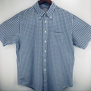 Brooks Brothers shortsleeve plaid button down